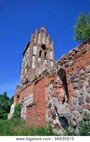 Ruins Of A Gothic Church