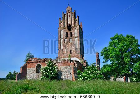 Ruins Of A Gothic Church