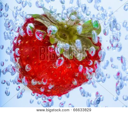 Red Strawberry Water