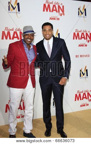 LOS ANGELES - JUN 9:  William Packer, Michael Ealy at the