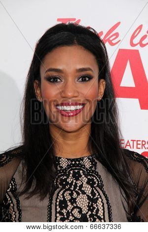 LOS ANGELES - JUN 9:  Annie Ilonzeh at the