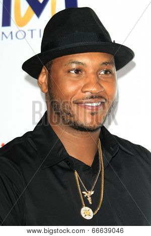 LOS ANGELES - JUN 9:  Carmelo Anthony at the