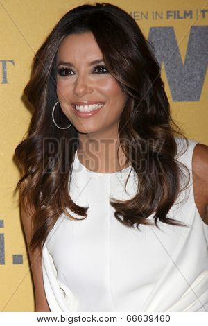 LOS ANGELES - JUN 11:  Eva Longoria at the Women In Film 2014 Crystal + Lucy Awards at Century Plaza Hotel on June 11, 2014 in Beverly Hills, CA