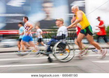 Cracovia Marathon.