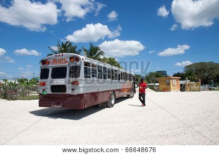 Bus Staion, Belize