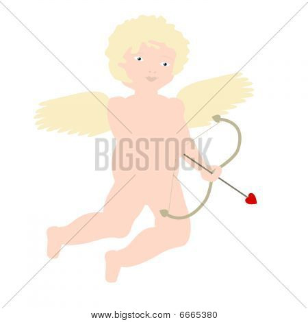 Blonde Cherubic Cupid