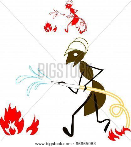 ant fireman