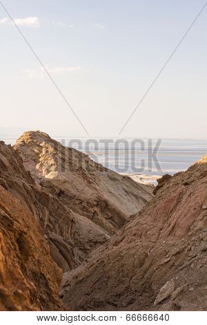 Dead Sea Cliffs