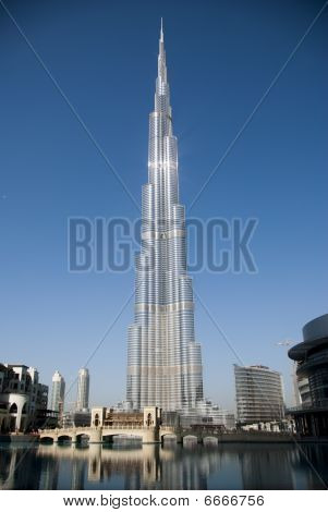 Burj Khalifa, Amongst The Worlds Tallest Buildings