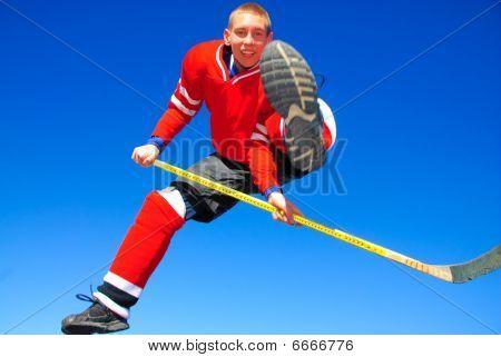 Colorado hockey trick