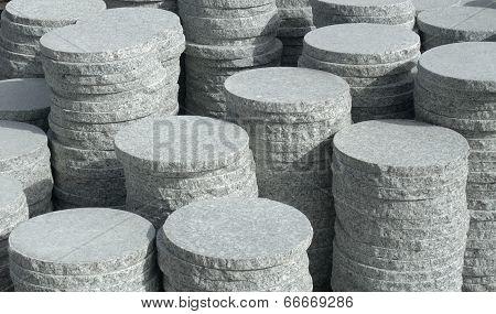 Round Stone Slabs