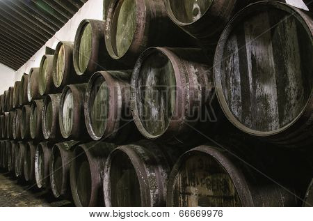 Sherry Barrels
