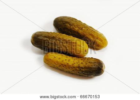 Three Pickled Nutritious And Delicious Cucumbers