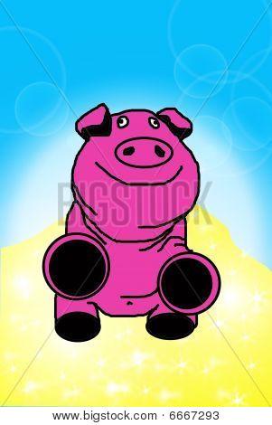 The Money Pig.