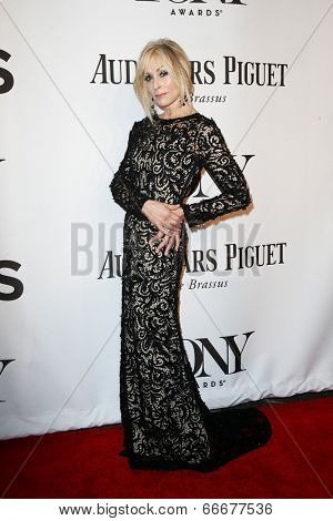 NEW YORK-JUNE 8: Actress Judith Light attends American Theatre Wing's 68th Annual Tony Awards at Radio City Music Hall on June 8, 2014 in New York City.