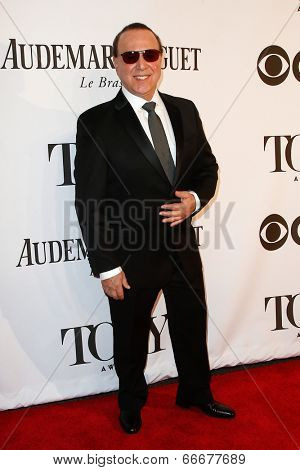 NEW YORK-JUNE 8: Music executive Tommy Mottola attends American Theatre Wing's 68th Annual Tony Awards at Radio City Music Hall on June 8, 2014 in New York City.