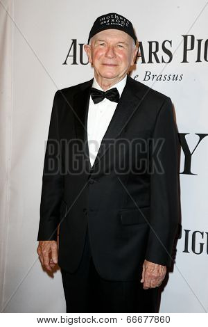 NEW YORK-JUNE 8: Playwright Terrence McNally attends American Theatre Wing's 68th Annual Tony Awards at Radio City Music Hall on June 8, 2014 in New York City.