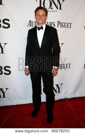 NEW YORK-JUNE 8: Actor Tony Goldwyn attends American Theatre Wing's 68th Annual Tony Awards at Radio City Music Hall on June 8, 2014 in New York City.