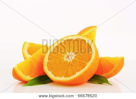 pulpy orange pieces
