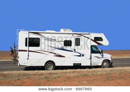 Rv On A Road Trip