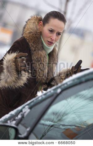 Unhappy Pedestrian