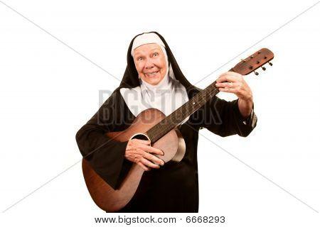Funny Singing Nun