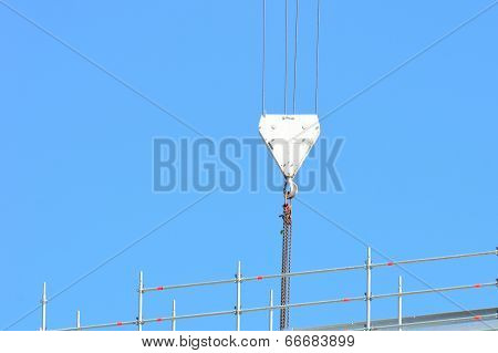 large crane pulley