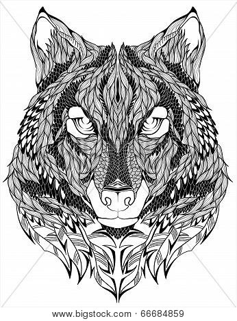 wolf psychedelic