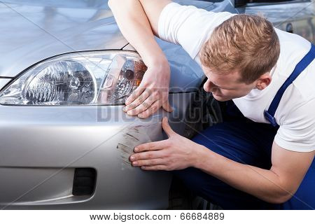 Fixing A Car Scratch