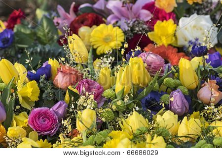 Bouquet in yellow