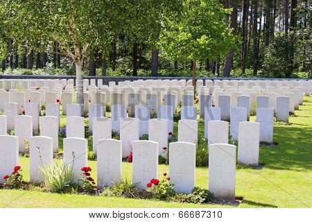 New British Cemetery World War 1 Flanders Fields