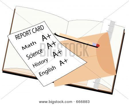 Cartão de relatório