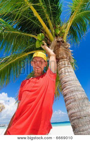 Teenager in Cancun