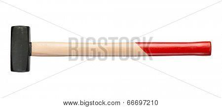 sledgehammer on white background