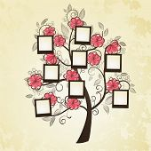foto of substitutes  - Memories tree with photo frames. 