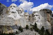 stock photo of mount rushmore national memorial  - Mt - JPG