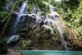 image of cebu  - Beautiful waterfall in Oslob - JPG
