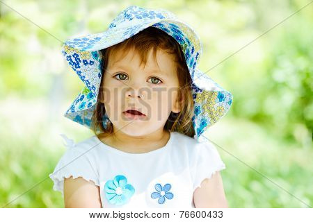 Portrait Of Toddler Girl
