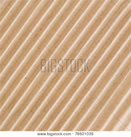 Corrugated cardboard texture.