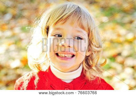 Girl In Fall