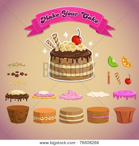 Cake constructor