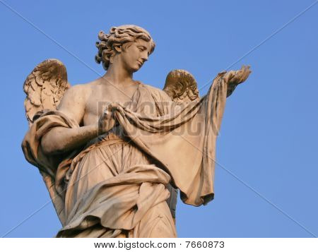 Angel with sudarium. Rome. Italy