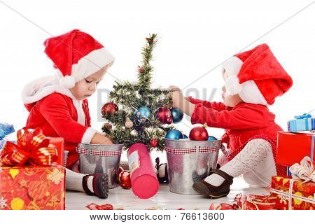 Two Santa Helpers
