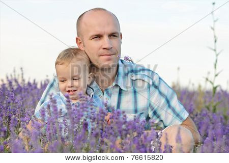 Baby Son With Dad