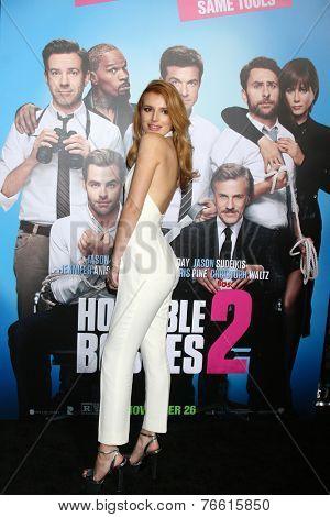 LOS ANGELES - NOV 20:  Bella Thorne at the