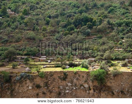 Settlement At Colca Canyon