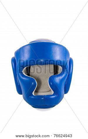 Blue helmet boxer