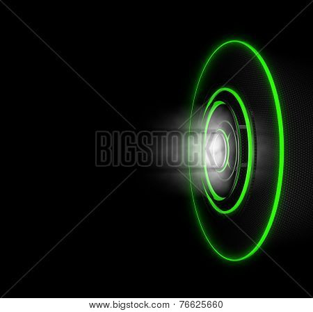 Cybernetic Green Circles