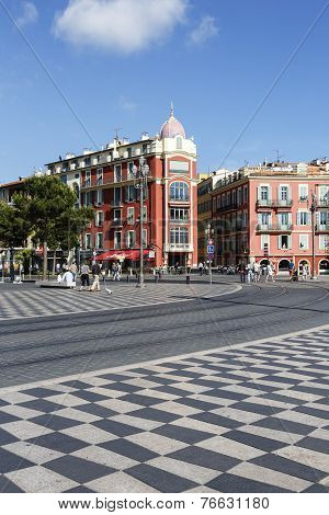 Architecture Of Massena Square In Nice
