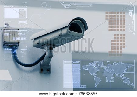 Cctv Camera Technology On Screen Display